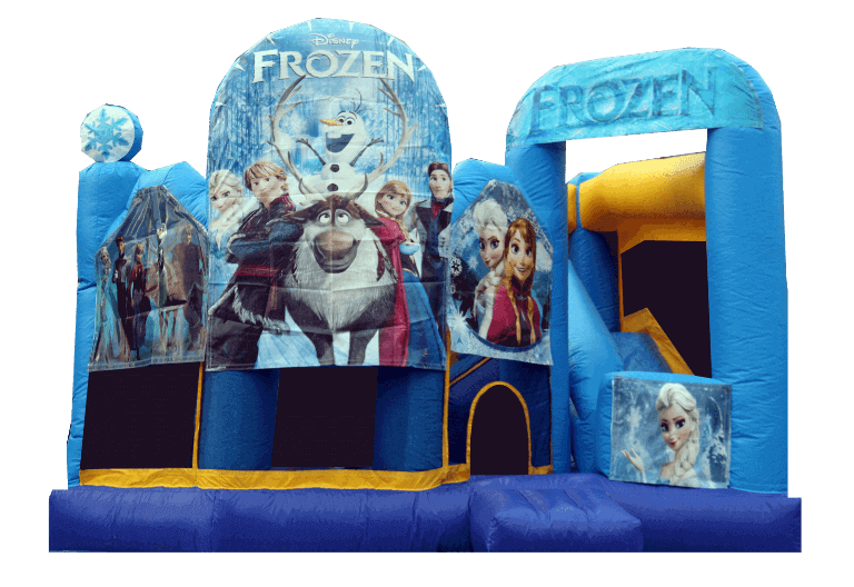 Frozen Combo Jumping Castle