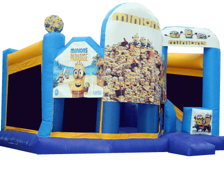 Minions Big - Combo jumping castle
