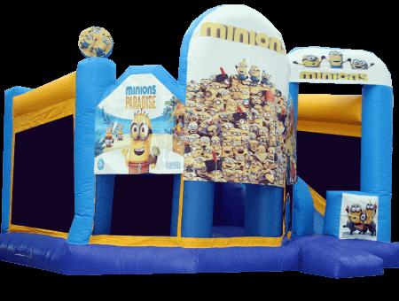 Minions Big - Combo jumping castle
