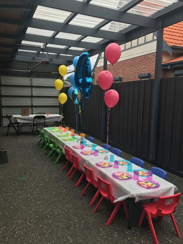 Kids Table & Chair Hire