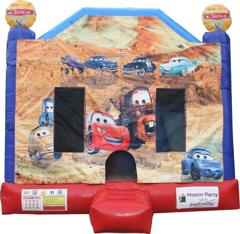 Cars Combo Jumping Castle