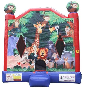 Jungle Safari Jumping Castle