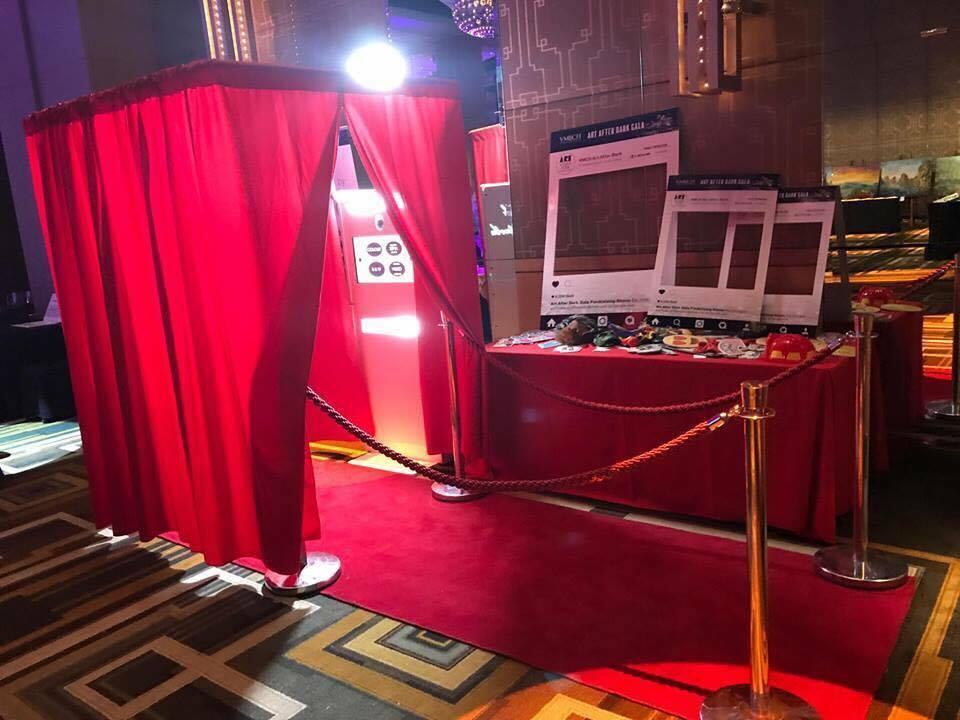 Curtain Photobooth